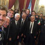 Giornata speciale per i Nicosia e dolce: i campioni del mondo ospiti del Presidente della Repubblica Mattarella