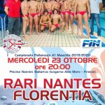 A1 M – RN Florentia alla Nannini affronta l'Iren Quinto
