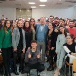 300 studenti dell'Università Parthenope a lezione da Franco Porzio