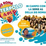 Al via il Waterpolo Camp targato Sis Roma